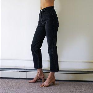 Vintage Calvin Klein Raw Hem Jeans